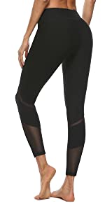 Yoga Pants for Women Workout Mid Waist