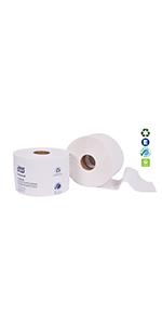 Tork 161990 Universal Bath Tissue Roll with OptiCore