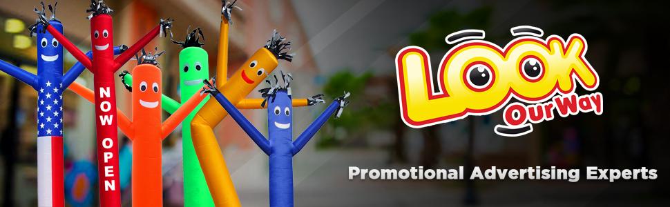 LookOurWay Air Dancers Inflatable Tube Man Outdoor Advertising