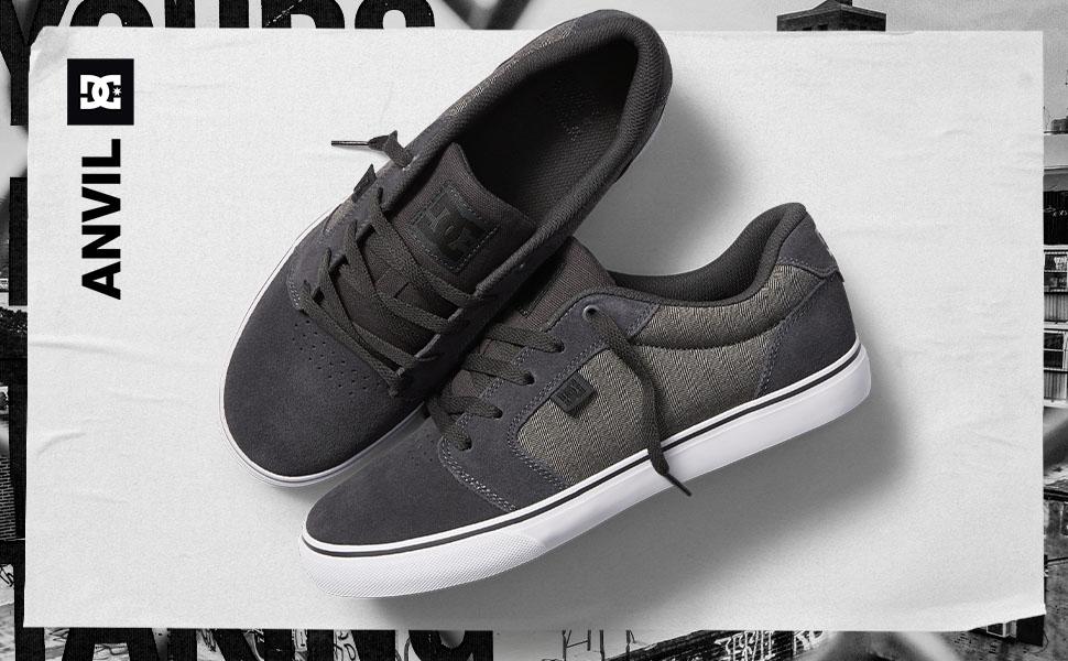 DC Shoes, skate, anvil