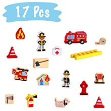 17 Pieces accessories