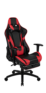 Flash Furniture X30 Gaming Chair with Reclining Back and Slide-Out Footrest