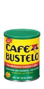 Cafe Bustelo, decaf coffee