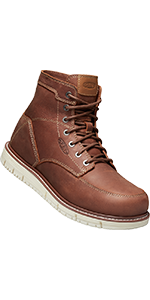 mens san jose 6 inch soft toe work boot ginger bread
