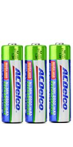 rechargeable batteries double-a doubke batterys e ba alarms detector