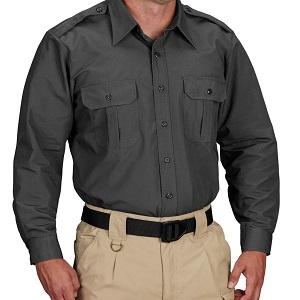 Tactical Dress Shirt Grey