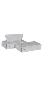 Tork Advanced TF6810 Facial Tissue, Flat Box