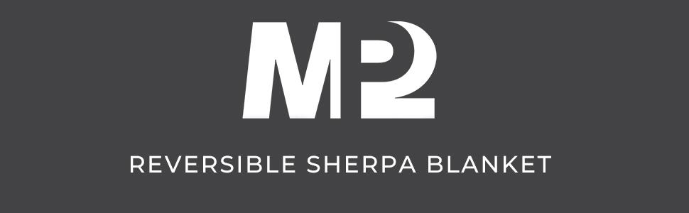 luxury reversible sherpa throw blanket