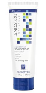 Andalou Naturals, natural hair products, natural shampoo, natural conditioner, thickening spray