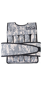 weighted vest, conditioning vest