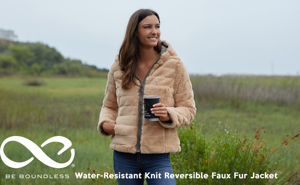 Puffer Jacket, Reversible Jacket, Water Resistant, Women's Outerwear