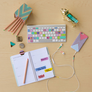 washi tape office decoration