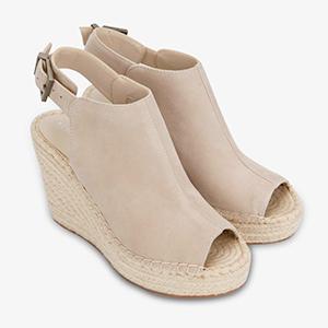 wedge sandal, summer wedge sandal, jute wedge sandal, designer wedge, summer sandals, kcny wedge