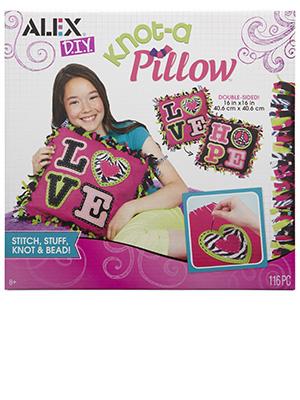 Pillow, stitch, stuff, sew, beads, fringe, fleece