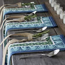 Villeroy and Boch Casale Blu napkins and placemats