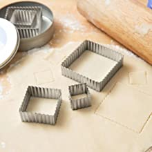 Fluted Square Cutters