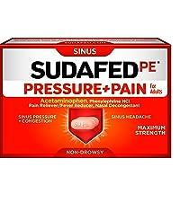sinus pressure, sinus pain, congestion, sudafed pe