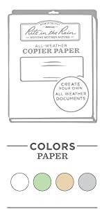 Copy Paper & Card Stock