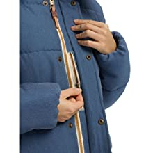 fleece jacket puffy coat warm insulated