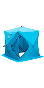 insulated winter tent insulated ice fishing tents ice shelter 3 person ice shanty