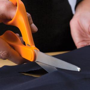 Orange 7 Inch Fiskars 197060-1001 Petite Original Orange-Handled Scissors