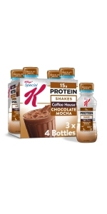 Special K Chocolate Mocha Protein Shakes, 10 oz (12 Count)