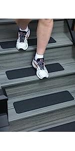 Non slip tread, non slip tape, safety track