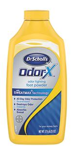 Dr. Scholl's Odor-X Odor Fighting Foot Powder