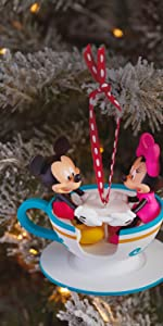 Mickey and Minnie Disney Christmas Ornament