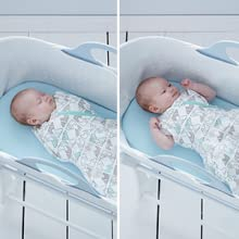 Grosnug baby sleeping bag swaddle newborn grow light snug grobag arms inside Hip-healthy blankets