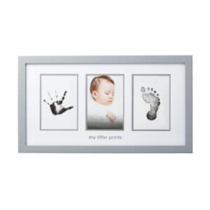 pearhead babyprints gray frame