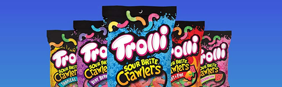 Trolli sweet and sour gummy candy