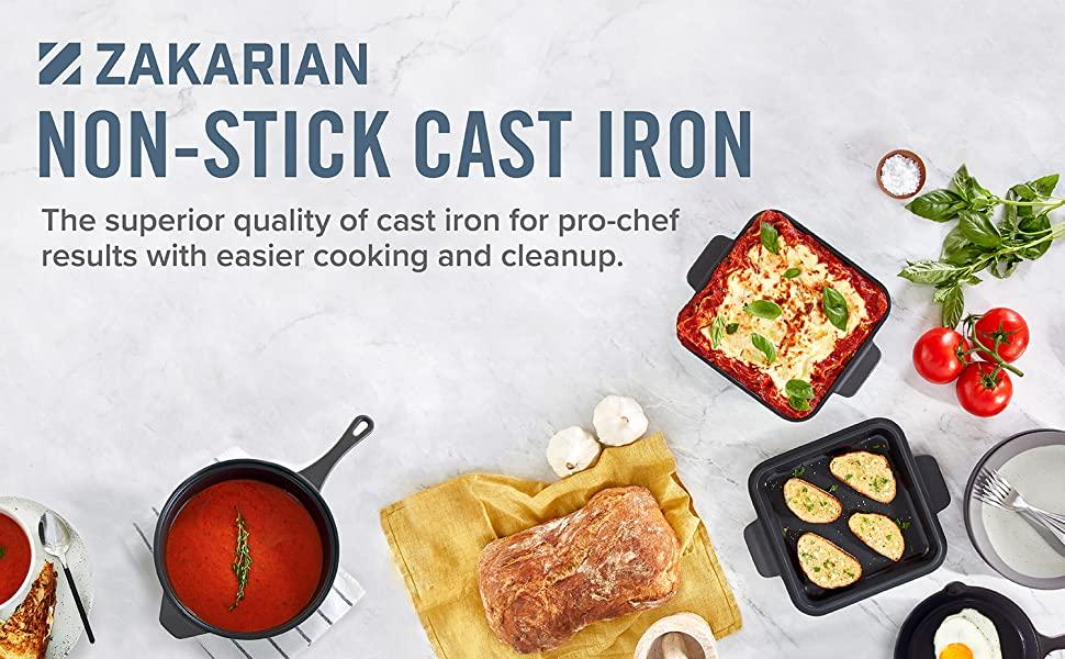 Cast Iron, Non Stick Cast Iron, Meat, Casserole, Bake, Dinner, Roast