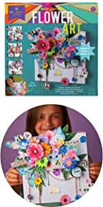 diy flower décor for your room or home easy craft kit for teens tweens adults