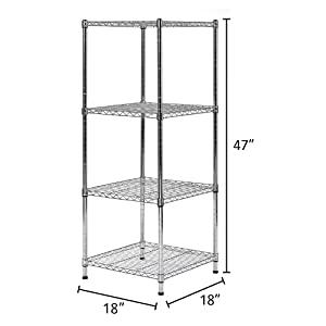 Closet organizers, Storage shelves, Wire closet, Wire rack, Kitchen shelves, slim shelf