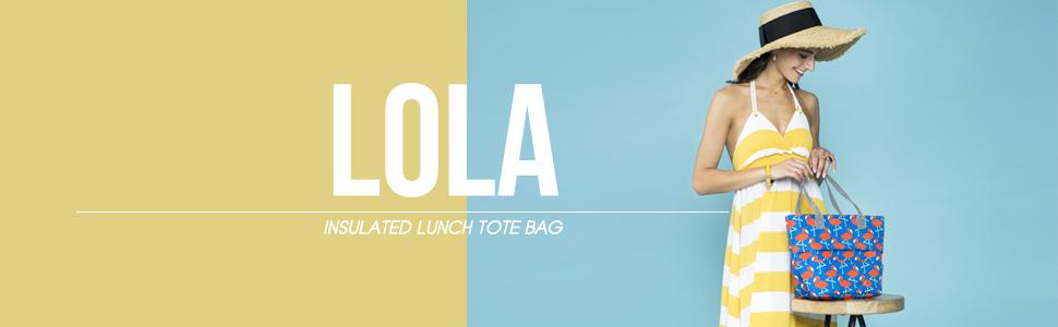 Lunch bag, bag for picnic, colorful bag, fashion bag, bag for women