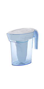 ZeroWater Water Filtration Pitcher 6 Cups