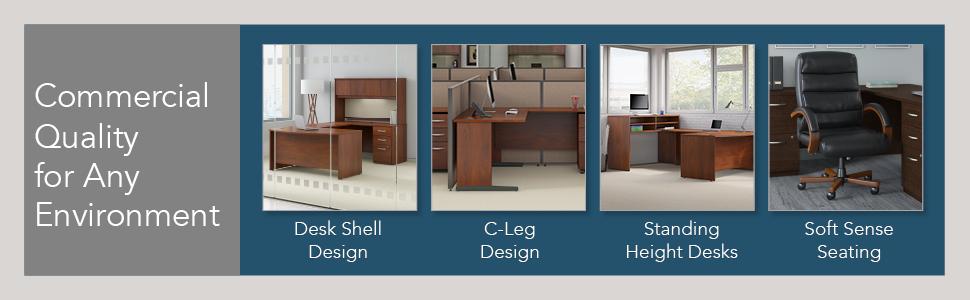 bbf,bush business furniture,series c elite,mocha cherry,cherry,contemporary,bush,bush industries