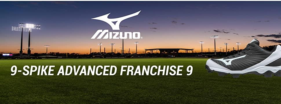 franchise molded baseball cleat
