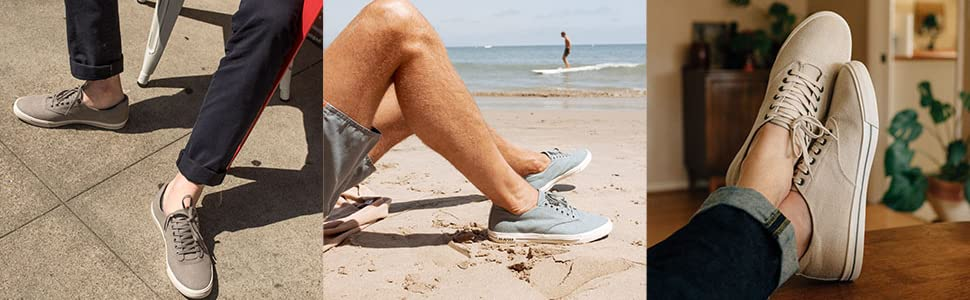 sneaker; casual sneaker; seavees; tennis shoe; slip on sneaker; comfortable shoe; mens shoe