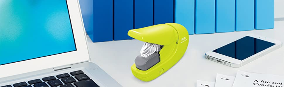 Desktop Paper Clinch Staple-Free Stapler