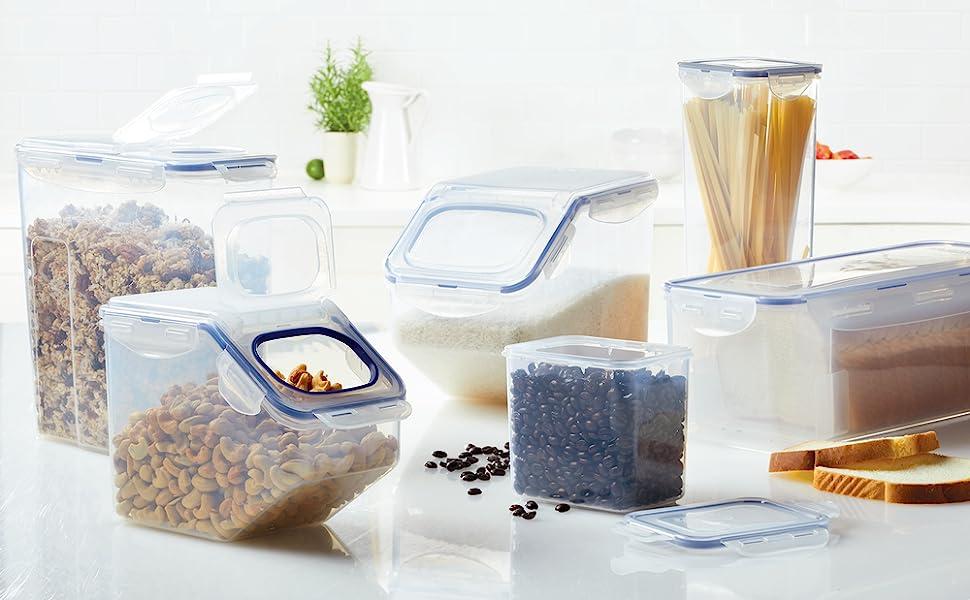 food storage containers, pantry storage, pantry organization