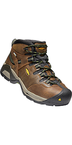 mens detroit xt mid steel toe waterproof safety footwear work boot