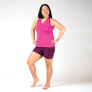 Skirt Sports Go Longer Running-Athletic Shorts For Women