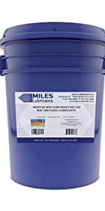 Miles Qs Way Lube Heavy ISO 220 Way And Slide Lubricant 5 Gallon Pail
