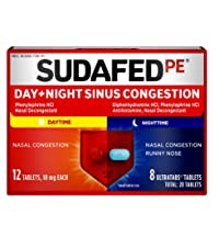 day night sinus congestion