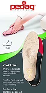 viva low flat feet