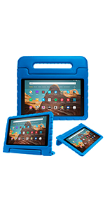 fire hd 10 2019 9th gen cover case flip folding magnetic smart slim lightweight keyboard accessories