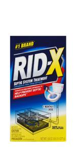 rid x rid-x ridx septic system treatment septic tank enzymes rid-x powder septic system powder