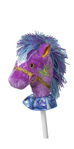 princess pony stick horse hobby horse